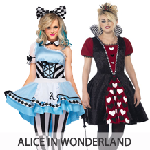 alice in wonderland kostuums