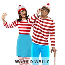 Waar is wally verkleedkleding