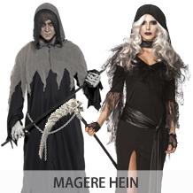 Halloween Kostuum Magere Hein.Partypakjes Halloween Kostuums