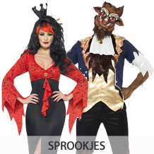 Sprookjes zonder happy end halloweenkostuums